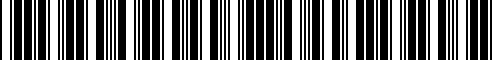 Barcode for 15255-RN015