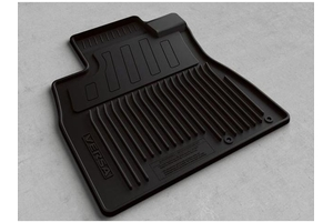View All-Season Floor Mats (Rubber / 4-piece / Black) Full-Sized Product Image